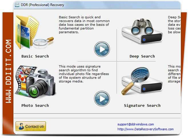 Photo restore tool regain missing images